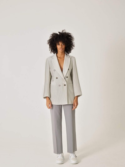 CL Pleated Blazer