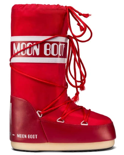 Moon Boot Nylon Red