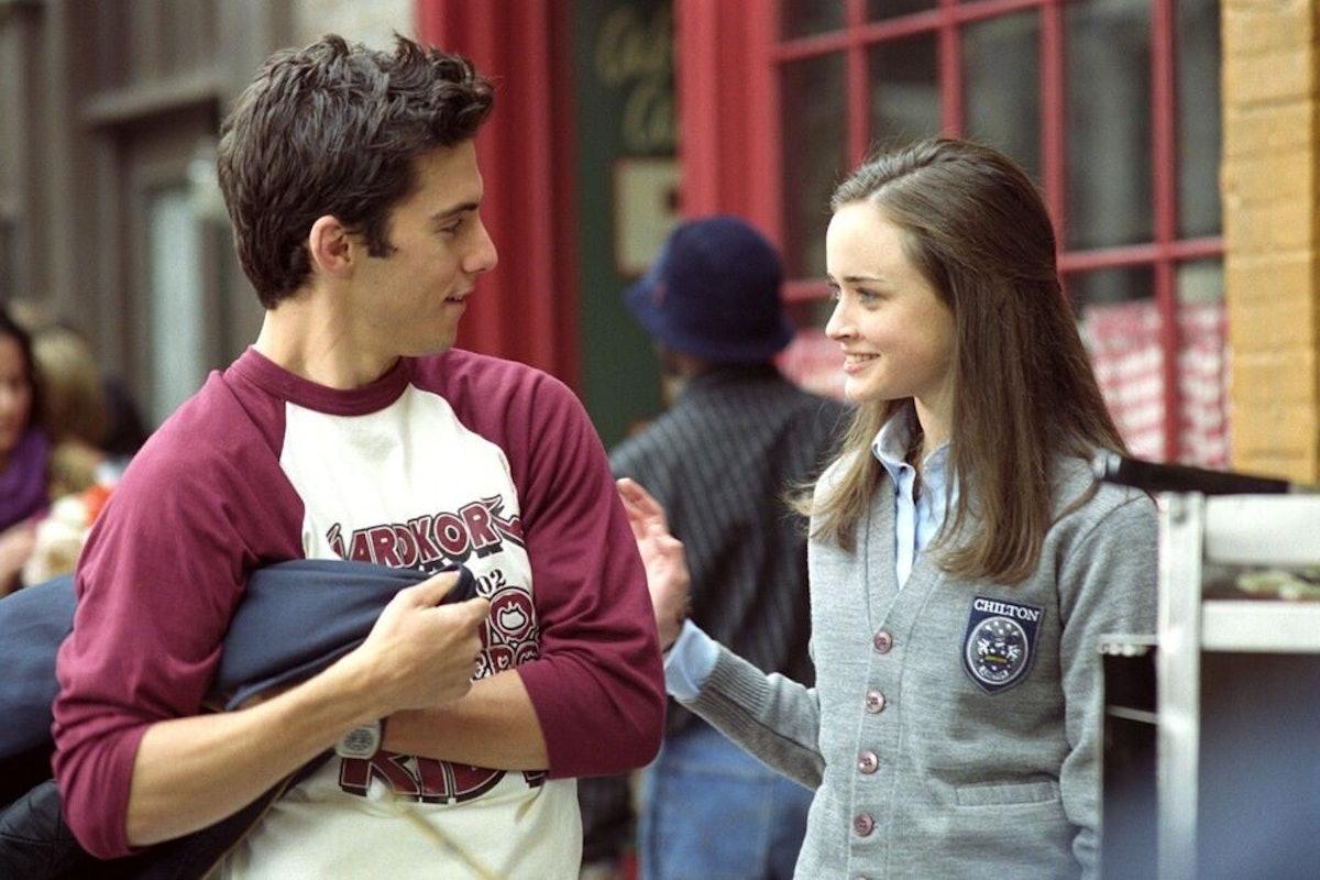 Gilmore Girls Jess & Rory