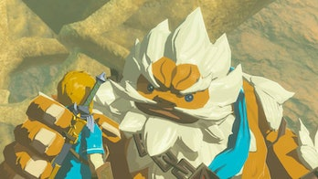 daruk the legend of zelda breath of the wild flashback memory