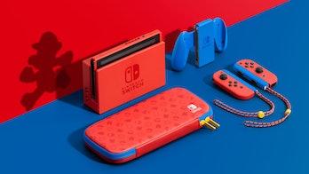 mario nintendo switch special edition