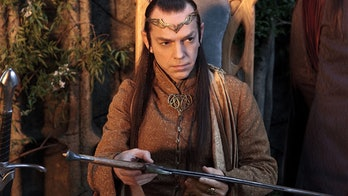 Hugo Weaving as Elrond in The Hobbit: An Unexpected Journey