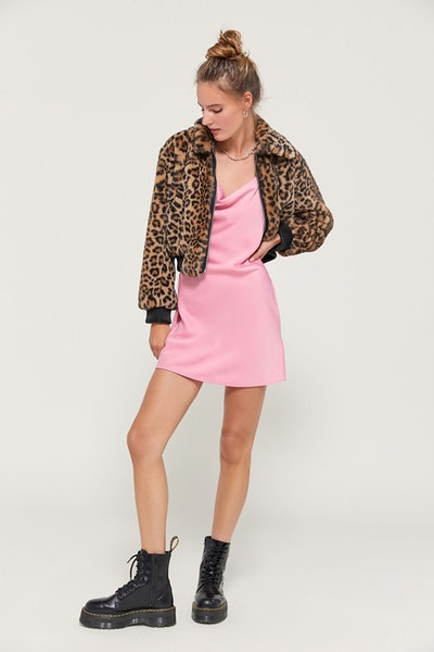 Mallory Cowl Neck Slip Dress