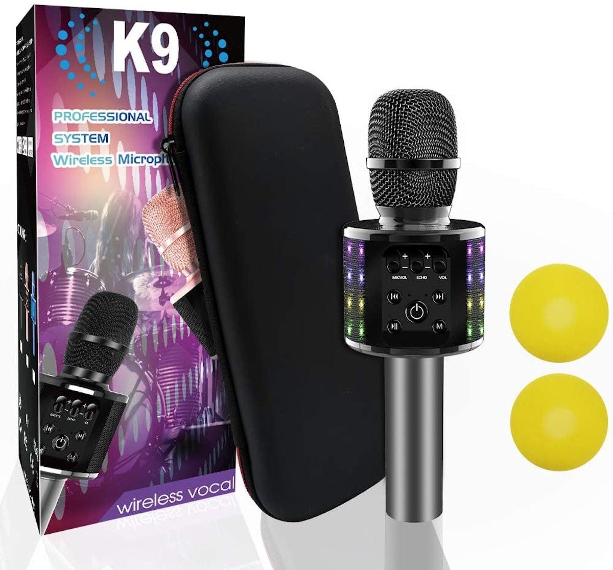 Weird Tails Wireless Bluetooth Karaoke Microphone