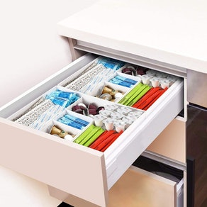 CAXXA 3-Slot Drawer Organizer (2-Pack)