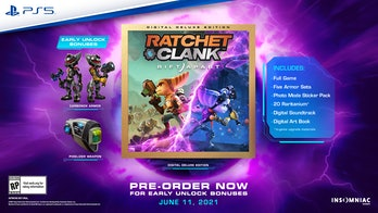 preorder bonuses for Ratchet and Clank: Rift Apart