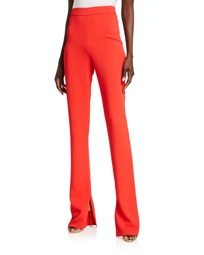 High Waisted Flare-Leg Pants
