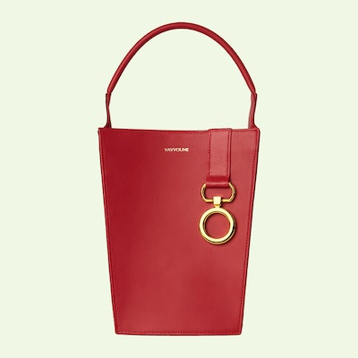 Mishe Gerbera Red Bag