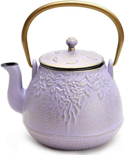 TOPTIER Japanese Cast Iron Tea Kettle, 32 oz.
