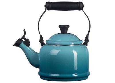 Le Creuset Enamel On Steel Demi Tea Kettle, 1.25 qt.