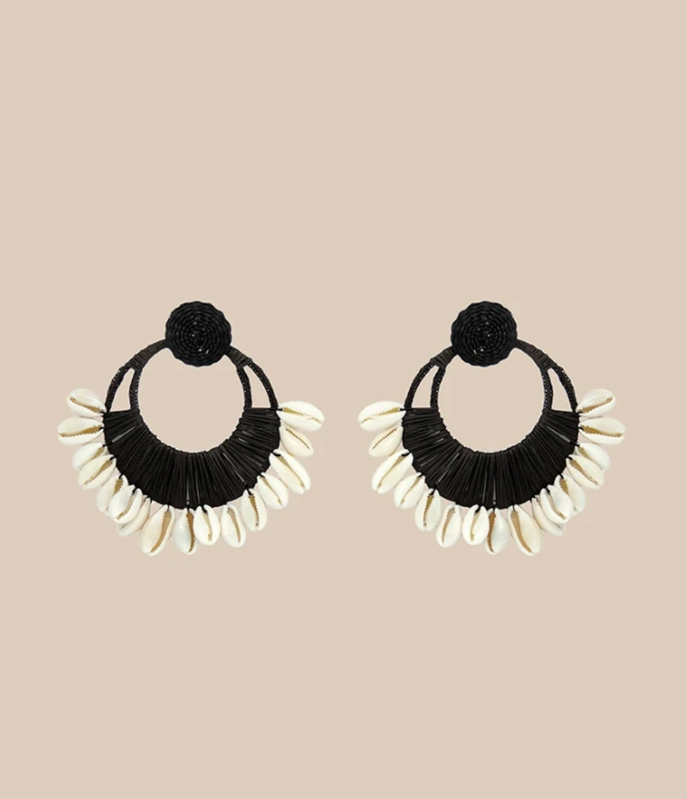 Historia Natural Black Earrings