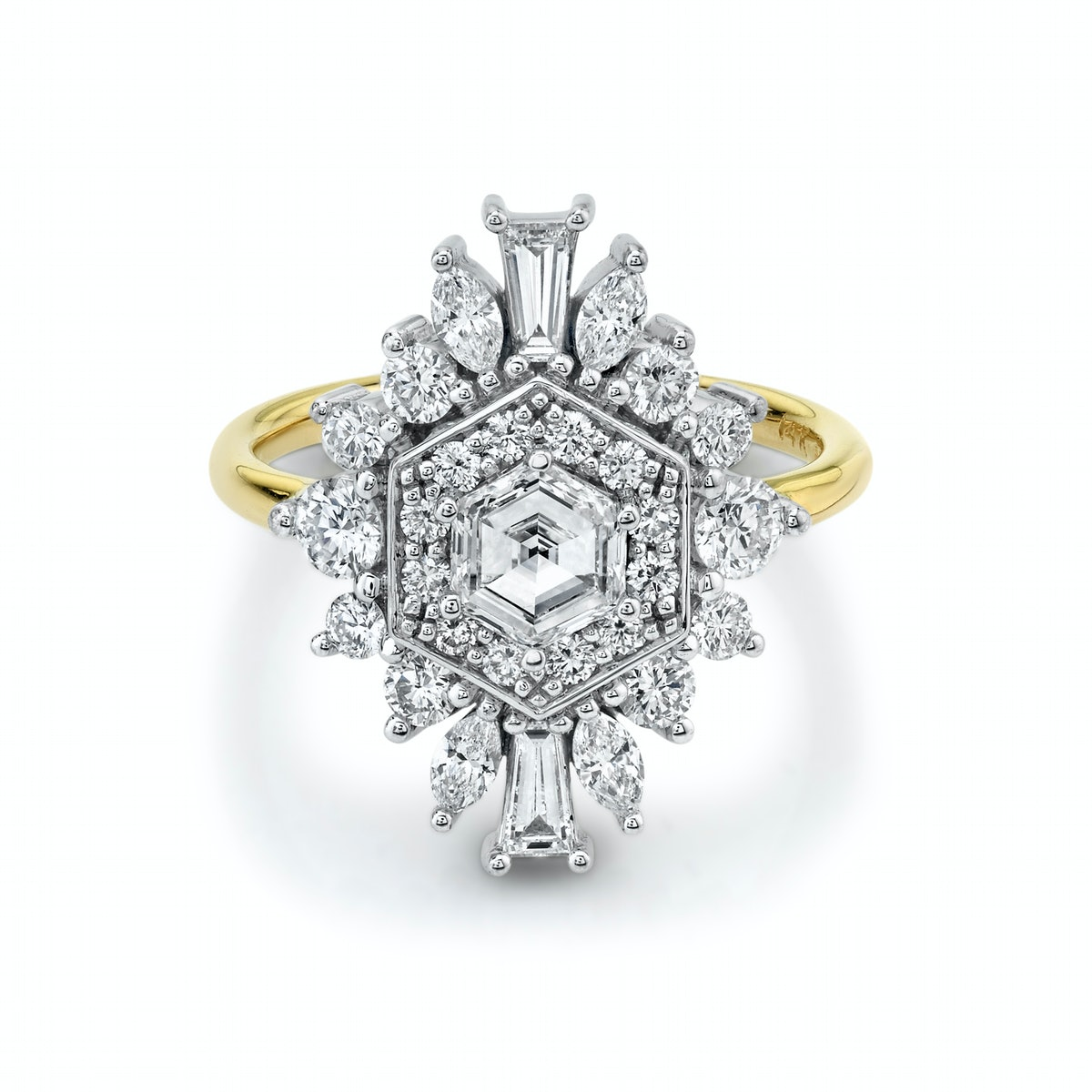 Stella Art Deco Engagement Ring
