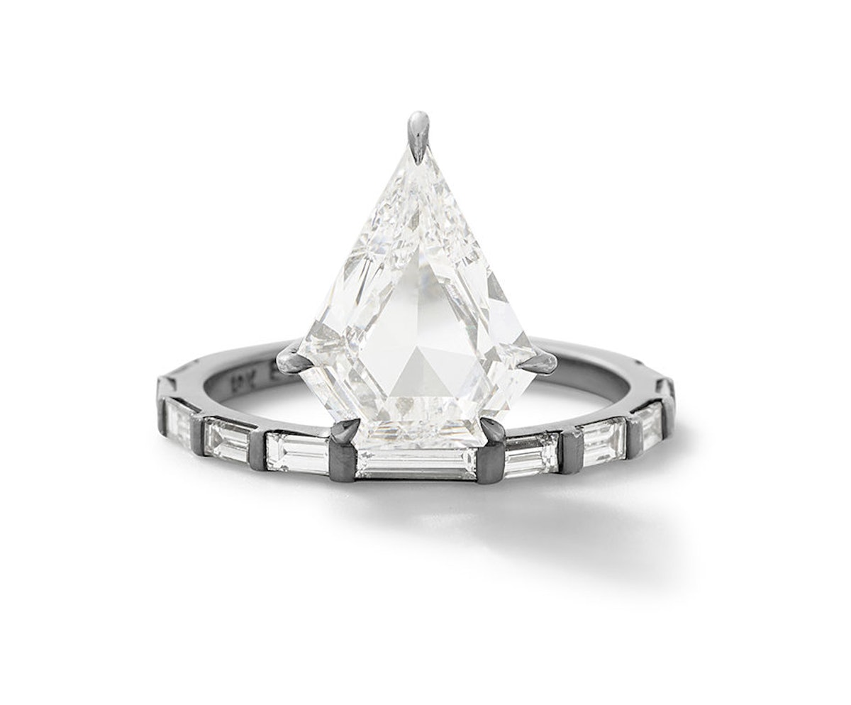 The Baguette Kent Ring