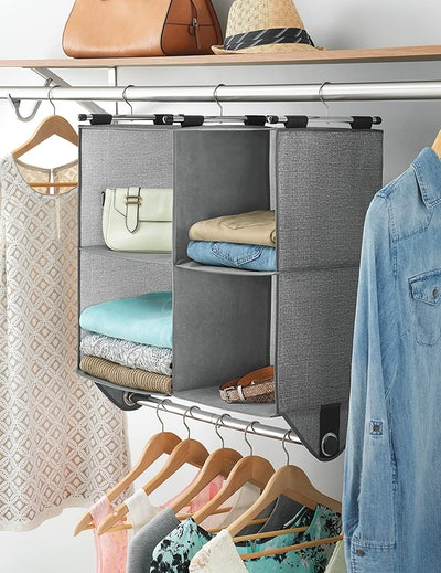 Whitmor Hanging Closet Organzier