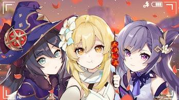Genshin Impact Tier List Mona, Keqing, and the Traveler