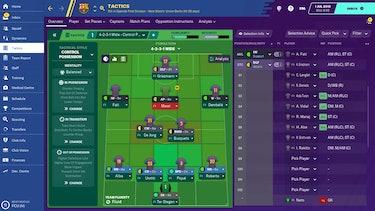 A screenshot of 'Football Manager'
