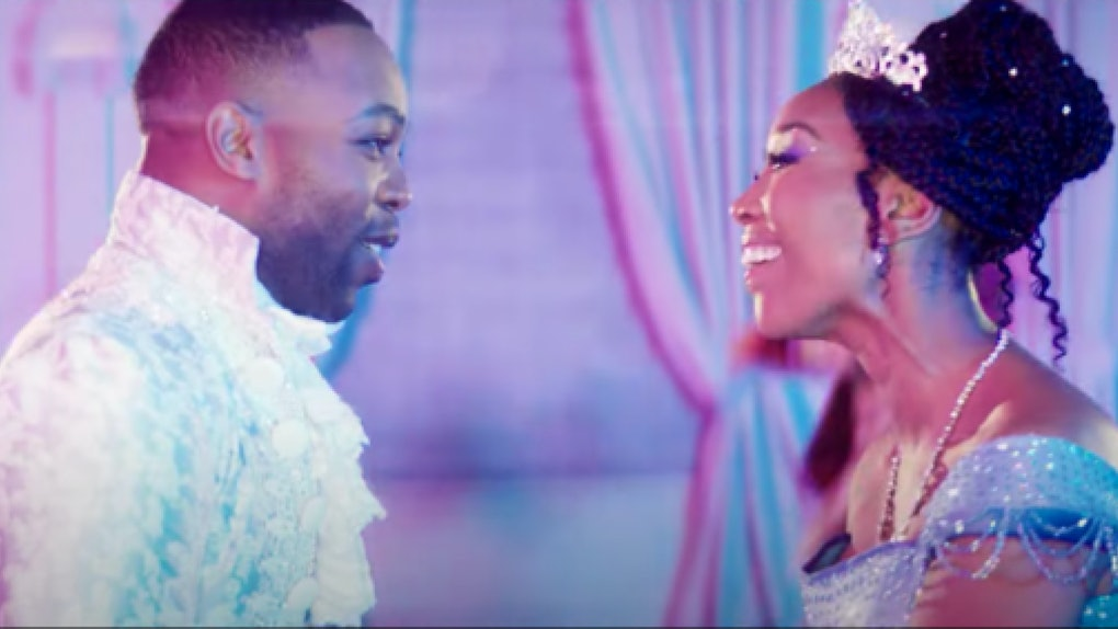 Todrick Hall and Brandy appear in a Cinderella medley video.