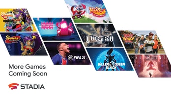 Stadia's forthcoming nine new games