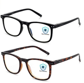 AOSM Blue Light-Blocking Glasses (2-Pack)