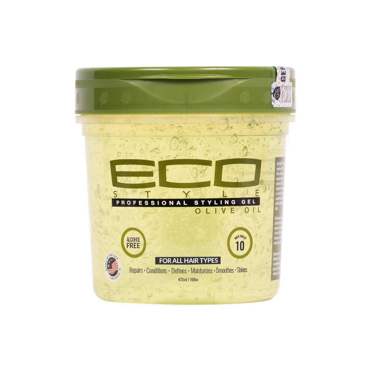 Eco Style Professional Olive Styling Gel