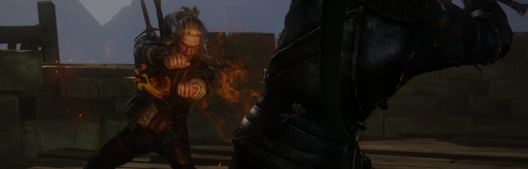 Screenshot from 'The Witcher' video game.
