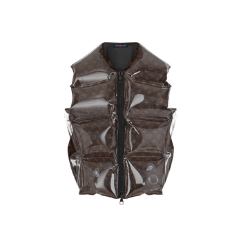 Louis Vuitton Inflatable Monogram Canvas Gilet