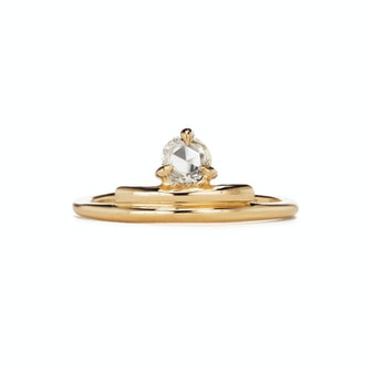 Leroux Solitaire Diamond Ring
