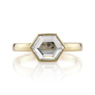 Wyler Hexagonal Portrait Cut Diamond