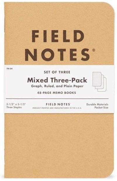 Field Notes Original Kraft Memo Books (3-Pack)