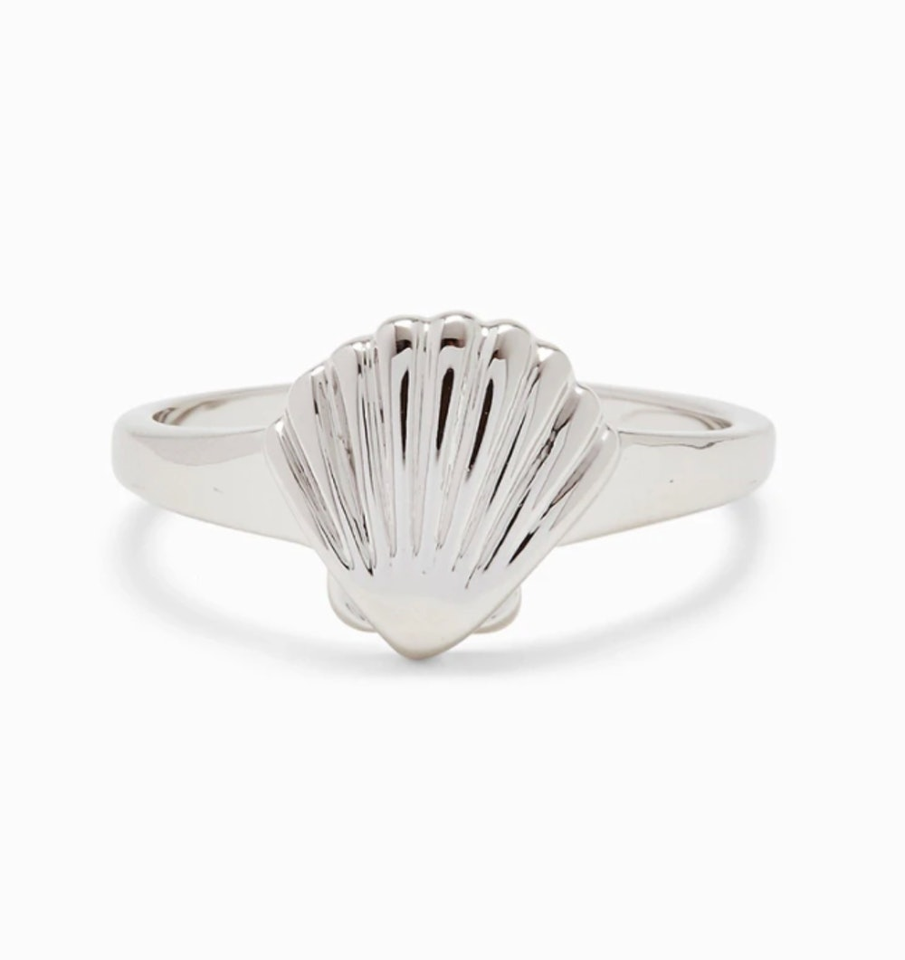Shell Signet Ring