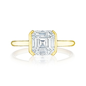 The Edge Solitaire Engagement Ring