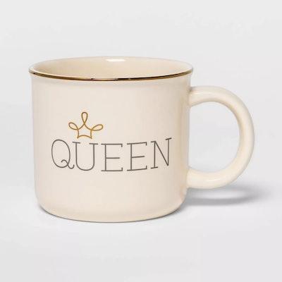Stoneware Queen Camper Mug
