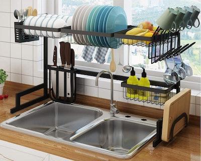 SHINKODA Over The Sink Dish Drying Rack