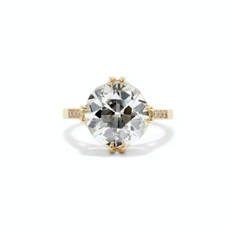 Amaris Old European Cut Diamond Engagement Ring