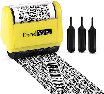 ExcelMark Identity Theft Stamp