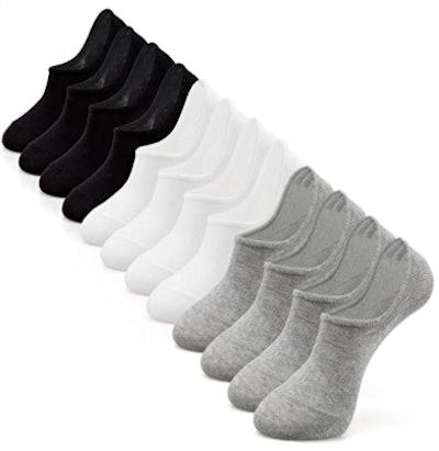IDEGG Anti-Slid Athletic Socks (6-Pack)