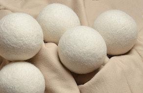 Handy Laundry Reusable Wool Dryer Balls (6-Pack)