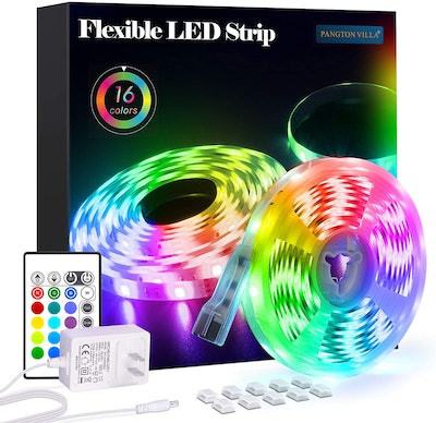 PANGTON VILLA Color Light Strips with Remote