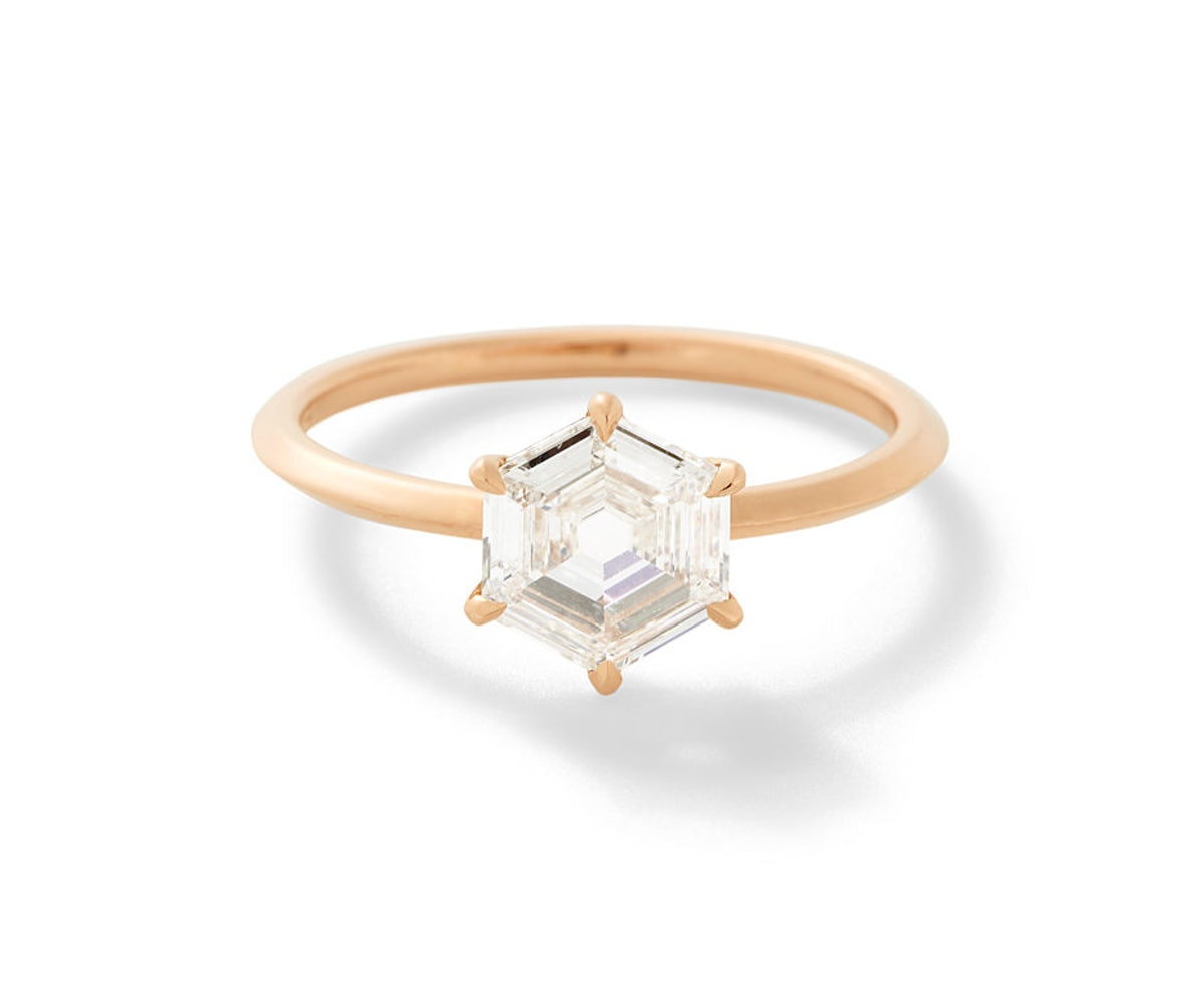 The Rose Gold Fia Ring