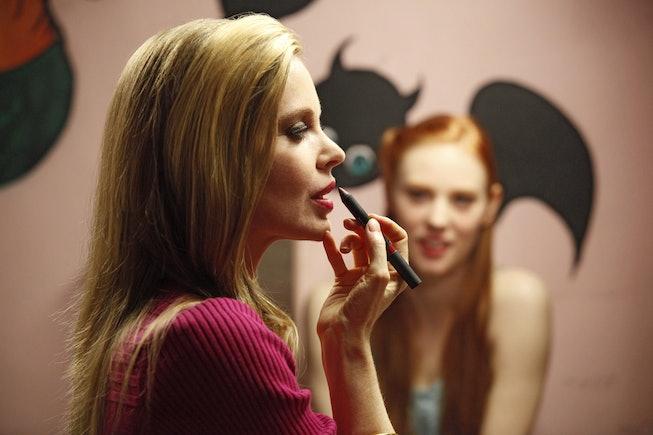 Kristin Bauer in 2008's HBO sexy vampire show, 'True Blood.'