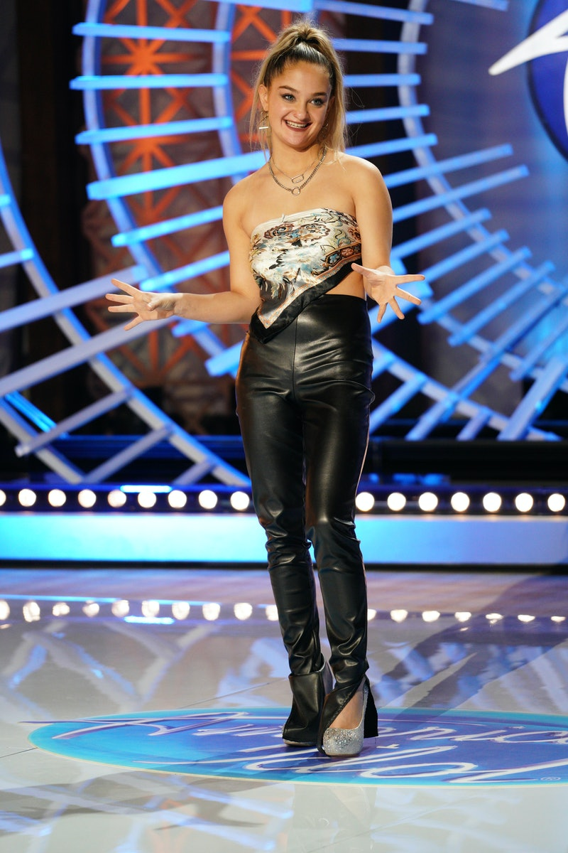 Claudia Conway auditions for American Idol. Photo via ABC