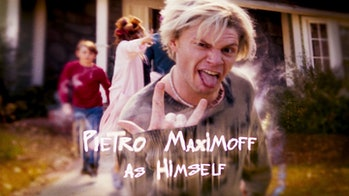 Evan Peters as Pietro Maximoff/Quicksilver in WandaVision Episode 6