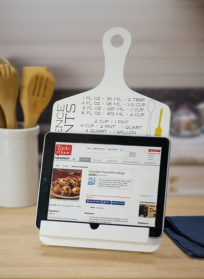 Boston Warehouse Tablet and Cookbook Stand with Measurement Reference
