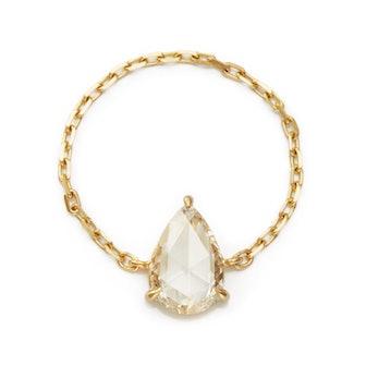 Diamond Rose Cut Supreme Chain Ring
