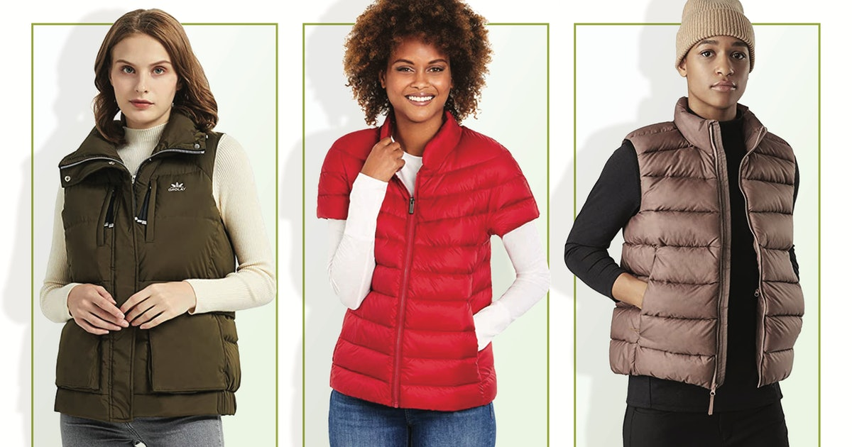 These Down Vests Are The Ultimate Layering Pieces — & There's A Pick For Every Budget