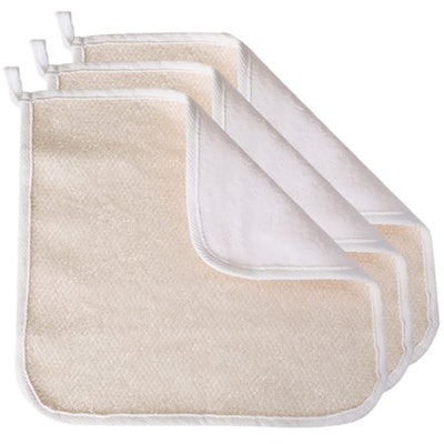 Evriholder Dual-Textured  Washcloths (3-Pack)