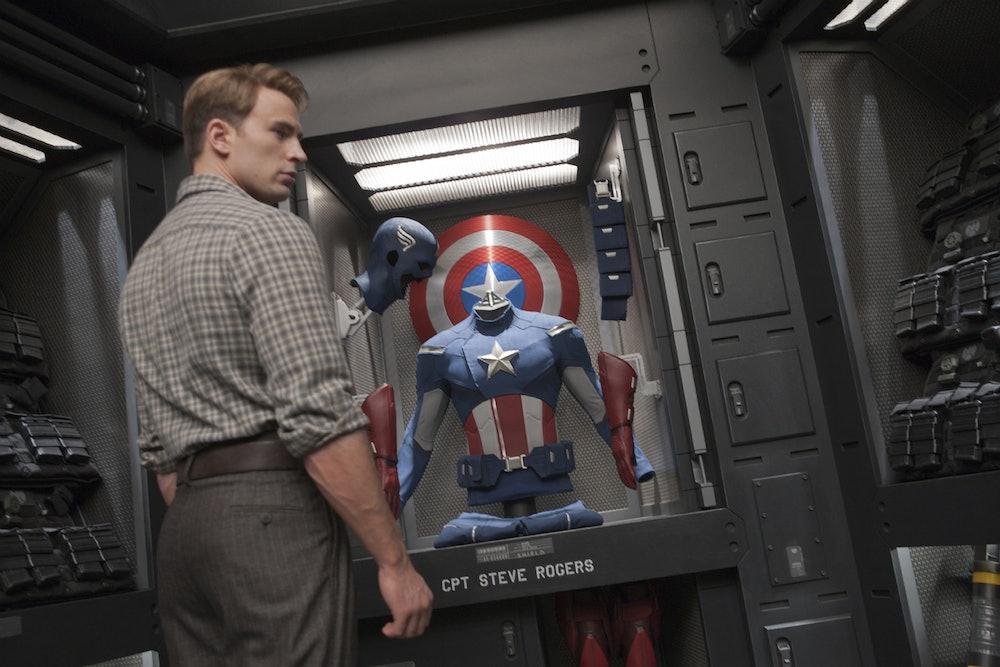 Avengers Chris Evans Steve Rogers