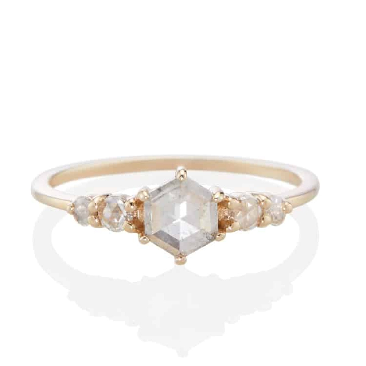 Bellatrix Hexagon Ring