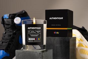 eBay Authentique candle