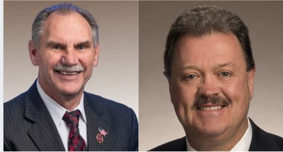 Sen. Mark Pody (R) and Rep. Jerry Sexton (R)
